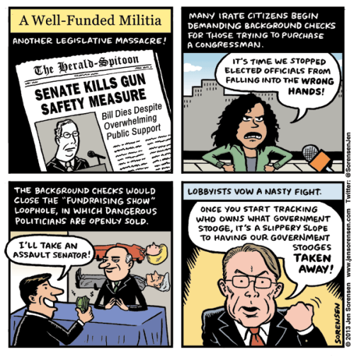 """A Well-Funded Militia"" by @Sorensenjen"