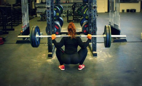 fullyactivated:  crossfitnessgirls:  Squat teen. Suzanne.   Hip Mobility