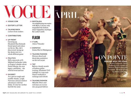 Vogue US April 2013