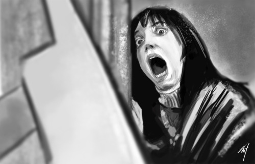 Took a break from client work and sketched this image. Love the Shining. :) @mctherrien