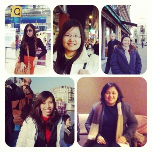 The gang in Paris^^ @boetooad7 @koyjungtj @oh_suwanna (at Paris , France)