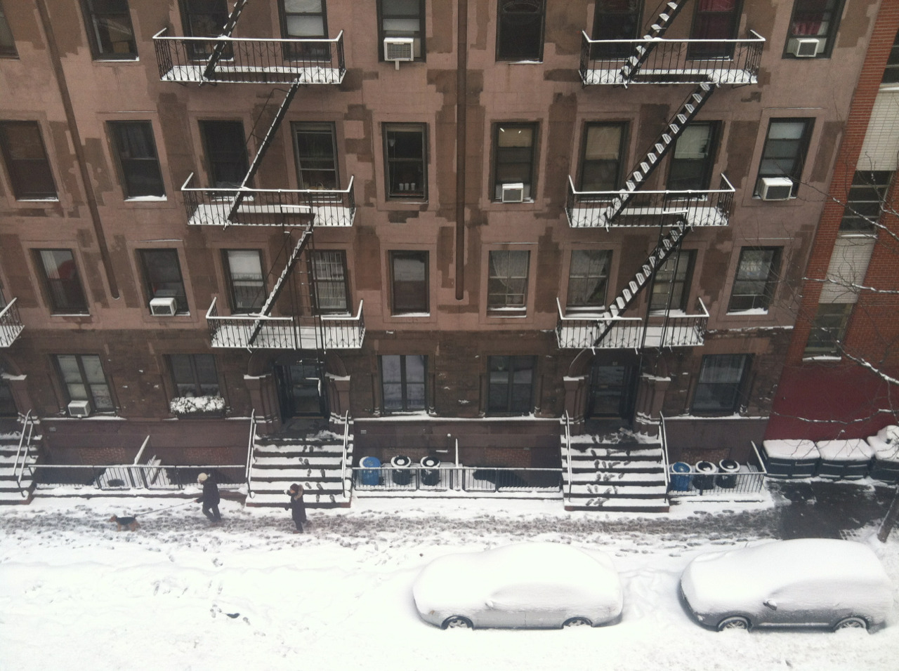 E 13th St this morning