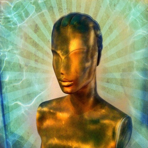 This antique golden bust struck me as rather alien so I gave it a treatment to match. ………… #iphone #photo #antique #gold #alien #bust #statue #sculpture #art #vintage #retro #stilllife #shop #store #wexford #pittsburgh #pa #pennsylvania #us #usa #america #colorful