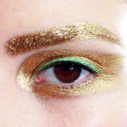 gold Make up inspo