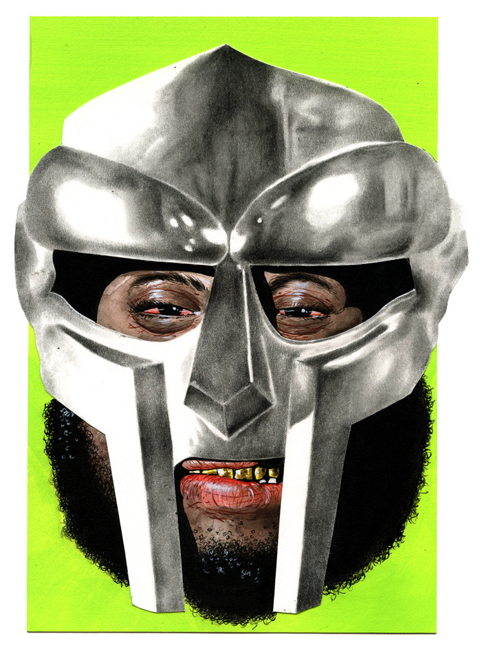 flying-blades:  MF DOOM by Jesse Fillingham