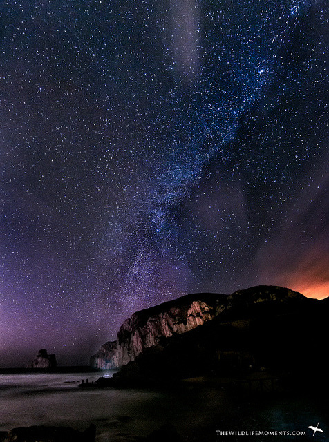 spacettf:  Masua milky way by wildlifemoments on Flickr.