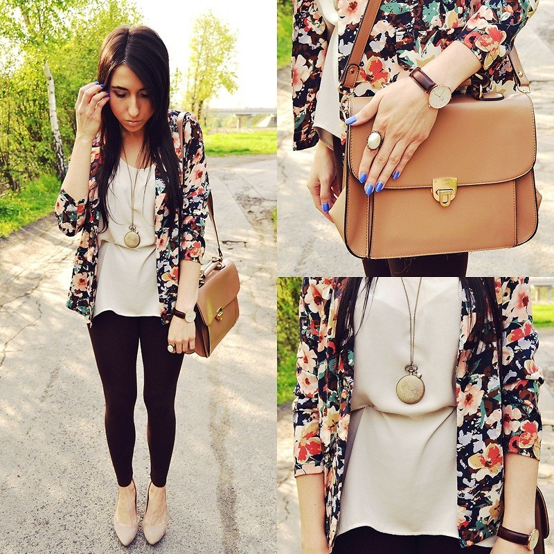 lookbookdotnu:  Colorful floral jacket (by Pam S)