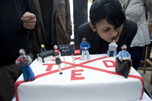 Photo of the week: TEDxSabanciUniversity in Orhanlı, Turkey shows off their very impressive TEDx cake.