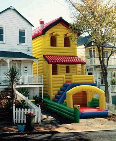 hintofvanilla:  I don't care how old I am, I'm going on the bounce castle whilst I'm young enough to not break a hip.