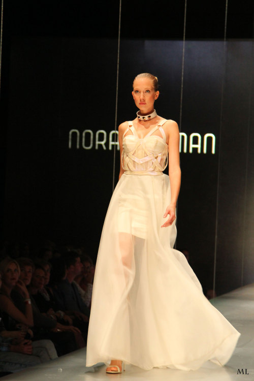 Nora Sarman 2012 F/W at MC fashion days