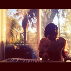 piano at sunset #meaninginmasterpiece