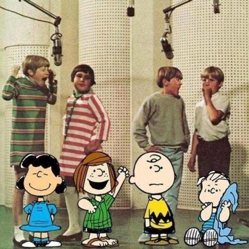 mizworldofrandom:Voices of Peanuts   Omg. The hair…. #Peanuts#60s