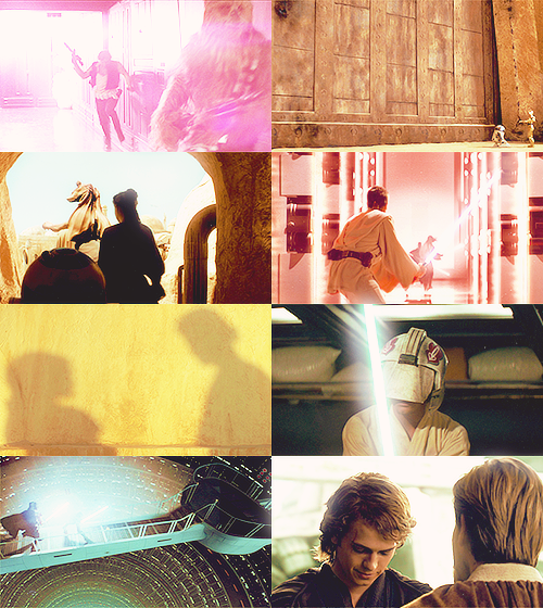 sonata-for-a-popcorn:   Screencap Meme → Star Wars + Light!  Requested by myo-da-soocha