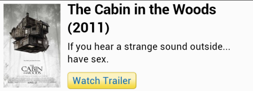 This is the synopsis of the movie I'm currently watching.