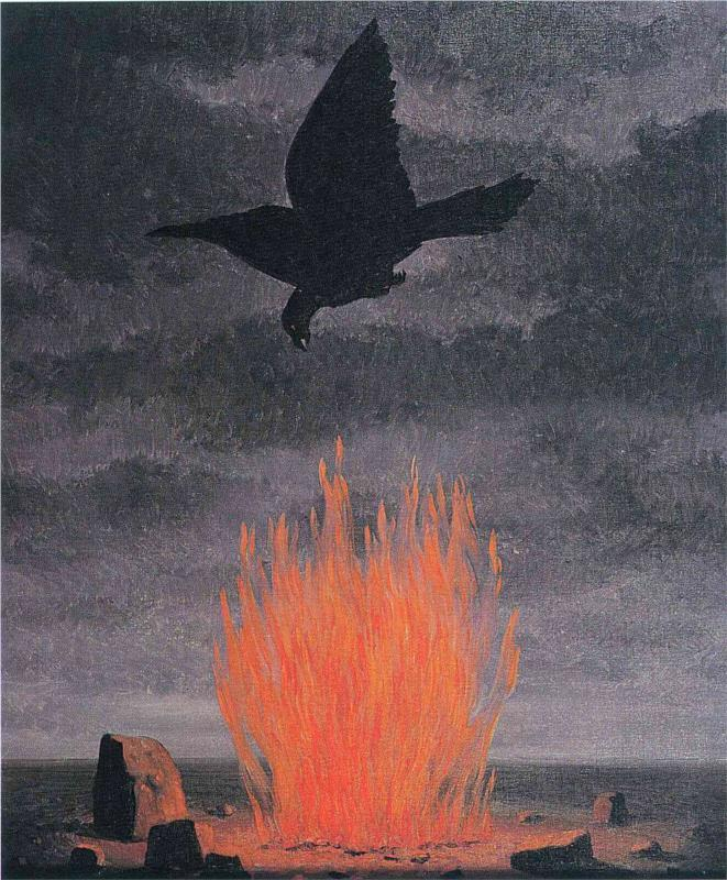 art-and-fury:  The Fanatics - René Magritte
