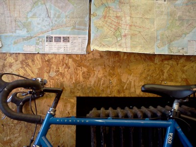 A map, a bicycle, a water bottle, a Sunday afternoon. Sometimes that's all I need =)