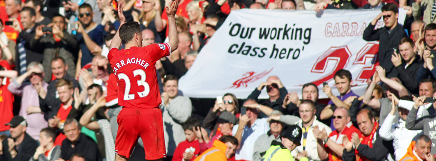'Our working class hero', Jamie Carragher…