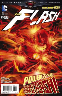 "DC has released a preview of The Flash #20 at Newsarama: ""Reverse, Part 1 of 6."" From DC's blog:  Something is claiming the lives of those who've been touched by the Speed Force, and The Flash is in a race against time to unlock this mystery before someone else turns up dead! Don't miss the start of Reverse-Flash's game-changing arc in the pages of THE FLASH #20!  The issue, by Francis Manapul and Brian Buccellato, arrives in stores on Wednesday. The post Flash #20 Preview appeared first on Speed Force."