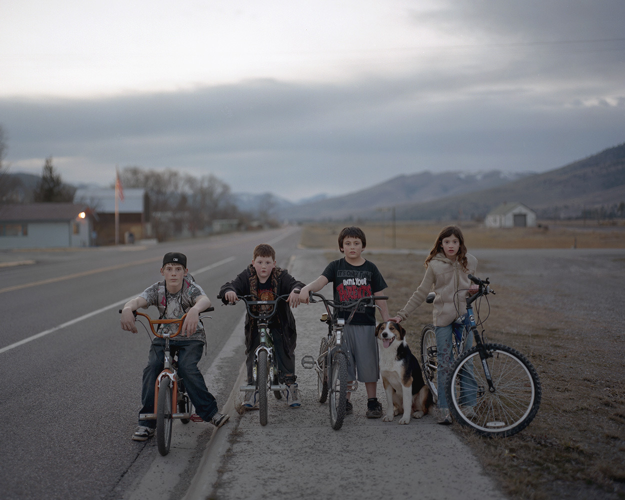 bryanschutmaat:  Bryan Schutmaat, Kids in Dixon, Montana, 2012