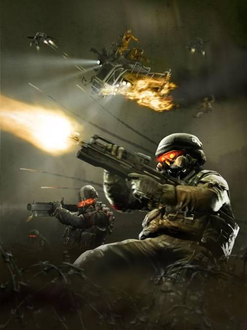 Painting Of Killzone Battle By Jennifer Pearce It's an oil painting on canvas and took me 3 days straight to complete it. I'm really proud of how it turned out. Via: labps