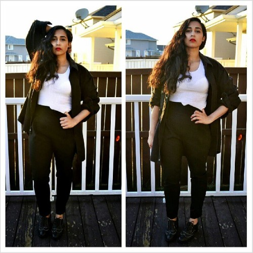 Ootd on Sunday at www.jtiwana.com #ootd #fashionblogger #yycfashion #Asos #canadianblogger