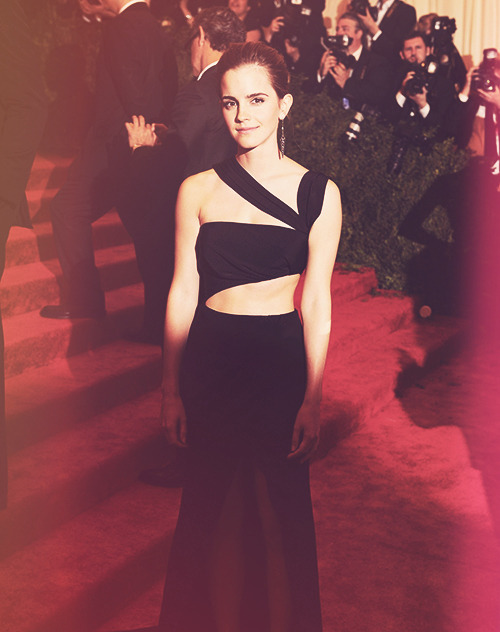 Emma Watson at the MET Gala (May 6,2013)