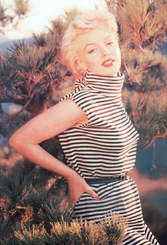 Marilyn Monroe photographed by Ted Baron, 1954