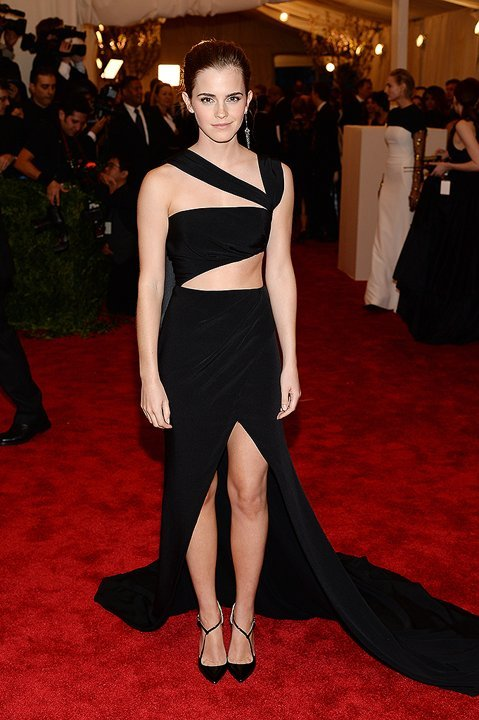 labellefabuleuse:  Emma Watson at The Met Gala, 2013  I love her !