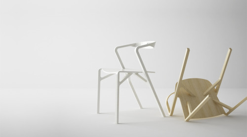 Eric and Johnny Studio Type Y chair