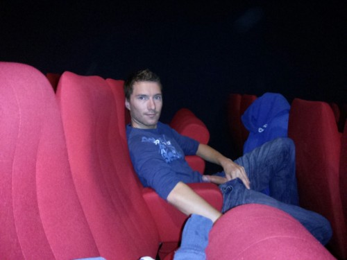 twunksandtwinks:  arthusetnico:At the movies #nsfw Must have been and exciting movie