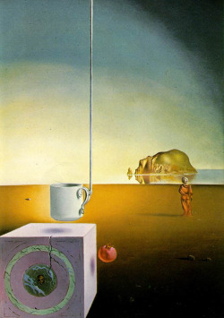 magrittee:  Salvador Dali - Half a Giant Cup Suspended with an Inexplicable Appendage Five Meters Long