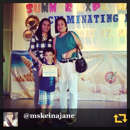 "5 Rules! iloveyou Keian! RG @mskeinajane: Congrats lil bro! Grade1 ka na sa pasukan. Naks! Makakapag ipad ka na ulit pero panandalian lang. 😜😝😛 Goodluck! Pataba at patangkad ka pa. P.S. ""Wag ka na sana makulit!!!"" Remember the 5 rules! I love you brother @keiancarl 😘😘😘 #proudsister #regramapp"