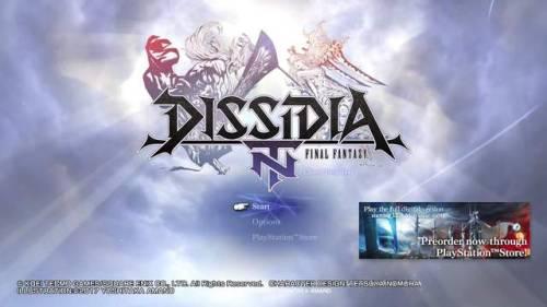 dissidia dissidia nt final fantasy dissidia final fantasy nt dffnt zakksu post
