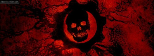 Gears of War 3 Logo Facebook Cover