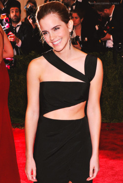 "my-flawlessemma:  Emma Watson ""PUNK: Chaos To Couture"" Costume Institute Gala ~ 6 May 2013"