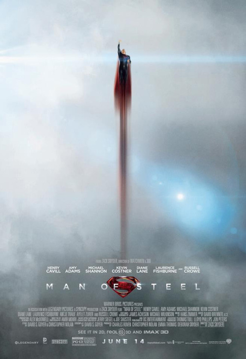 Warner drops another new TV spot for Man Of Steel: watch now The promotional material for Man Of Steel continues to come thick and fast, with Warner Bros releasing another new TV spot featuring a couple of snippets of new material…