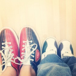 Bowling with my main squeeze. ❤  (at AMF Chandler Lanes)