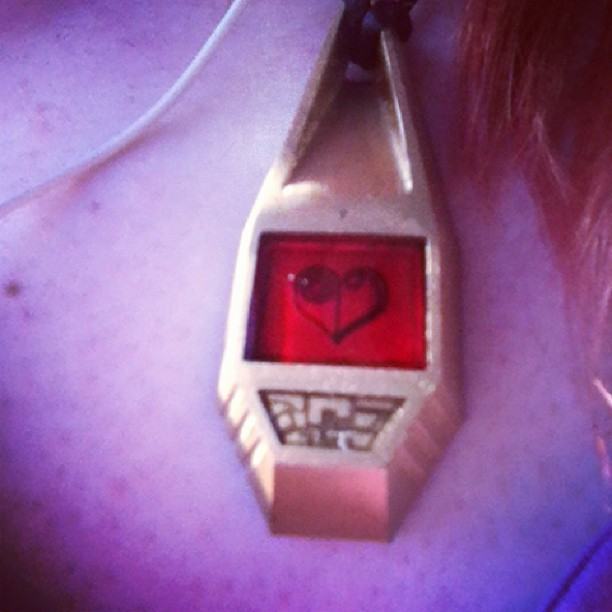 Wearing my Crest of Love today, I'm ready for my adventure!