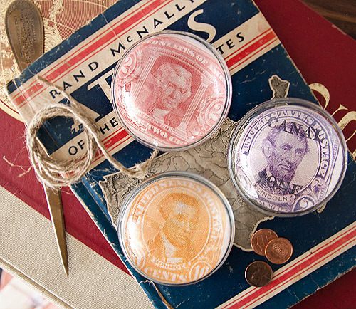 DIY presidential paperweights, via Design Sponge