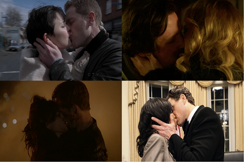 Lip Smacking Good: The Best TV Kisses of 2012