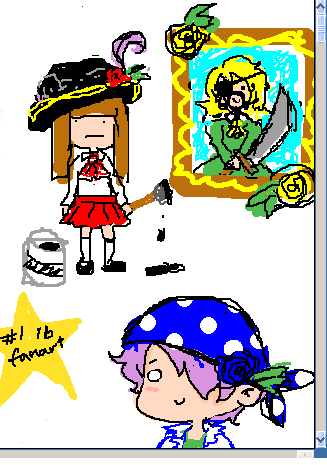p-chat doodles woo  everyone's a pirate