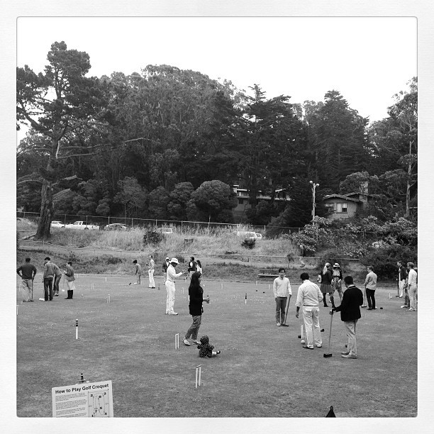Urban Croquet (at San Francisco Croquet Club)