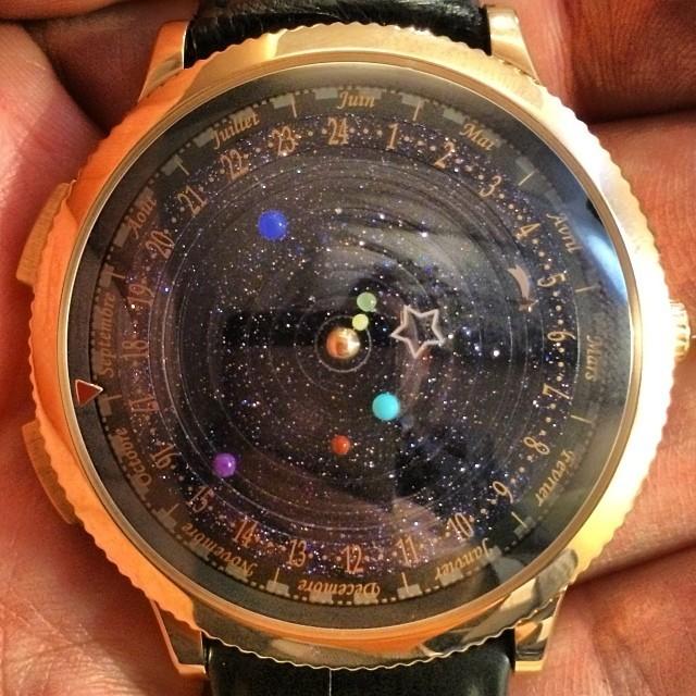 AsapSCIENCE — The Midnight Planétarium watch not only tells...