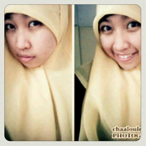 yippie :D (Photo taken and uploaded via MOLOME )
