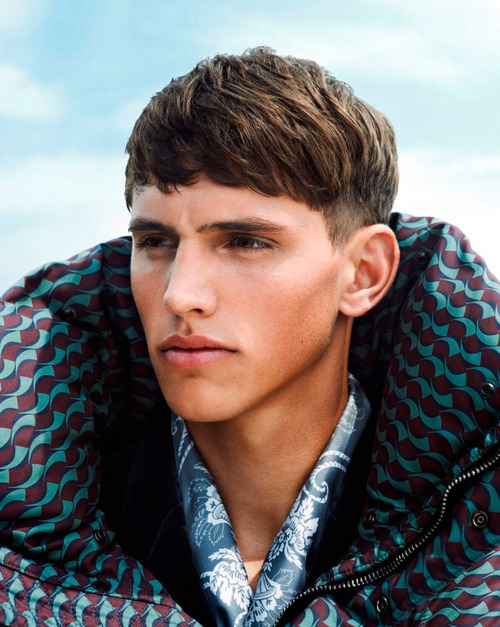 (via Bryant McCuddin Bowl Cut Bangs | Cool Men's Hair)