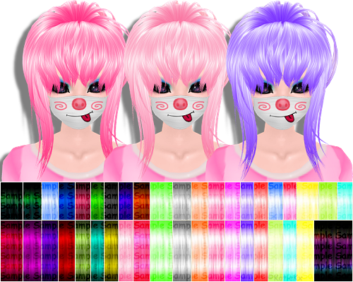 NEW!~ Candy Candy Hair Texture set with 41 textures!  Hair Texture Pack 6 - Candy Candy SetLimited: 10/10 Left | Price: 8,000 credits.41 textures. All FLAT PNG. 256x256 in size.  http://www.filessalesforum.com/t1295-kkx-hand-stitched-new-candy-candy-hair-texture-set-185-colorful-dread-hair-textures I also take orders by PM.