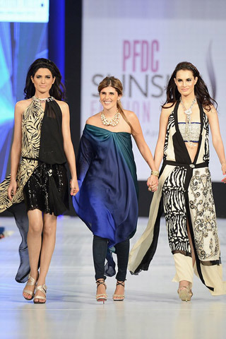 befashiony:  Ayesha F. Hashwani Collection at PFDC Sunsilk Fashion Week Day 2
