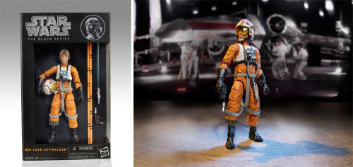 "The first figure from Hasbro's upcoming Star Wars Black 6""scale toyline aimed at adult toy collectors like me.   The sound you're hearing is my wallet crying.  Full story: http://m.usatoday.com/article/news/1872035"