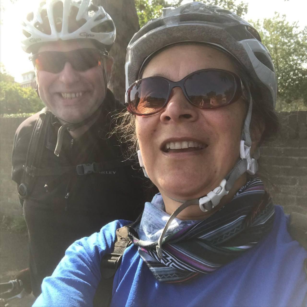 Out cycling in Richmond People taken by @officeoffin #London #londonist #londoner #riverthames #Richmond https://instagr.am/p/CFUOpYNjgpl/ #IFTTT#Instagram