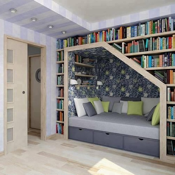 bookshelfporn:  Readings Nooks, the best kind of nooks. (via ohhnaahn)